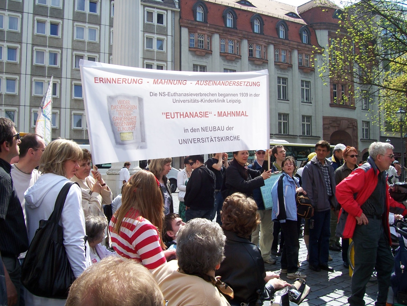 Demonstration zum Aktionstag für Menschen mit Behinderungen 9.5.2009