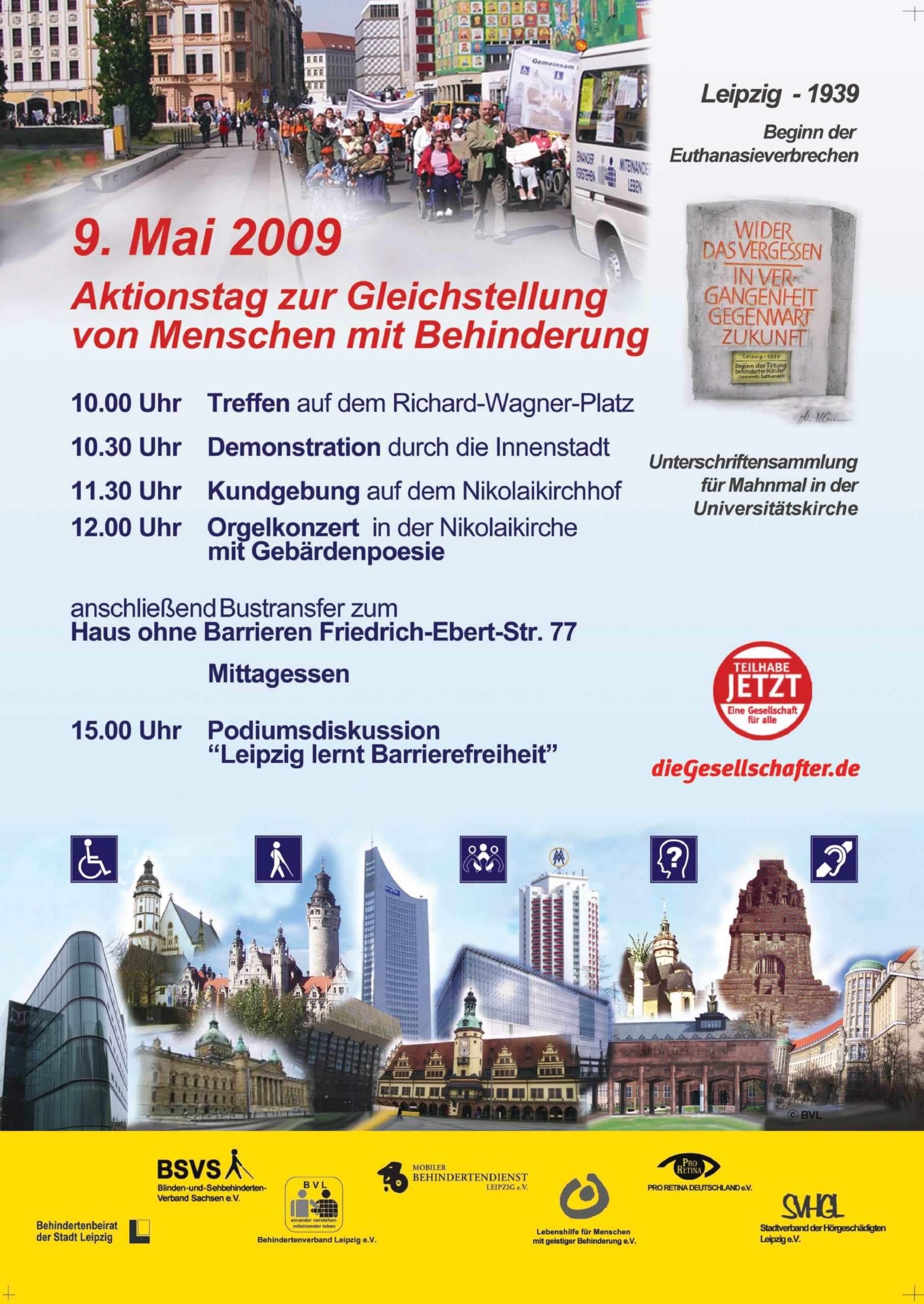Plakat Aktionstag 2009